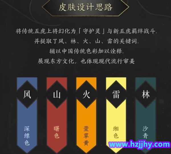 《王者荣耀》三国五虎上将的皮肤专业角度看设计的怎么样